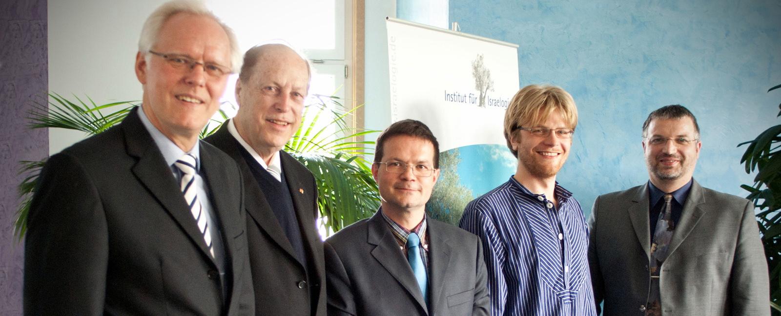 Prof. Dr. Helge Stadelmann, Dr. Fritz May, Dr. Christoph Stenschke, Moritz Deecke, Dr. Berthold Schwarz