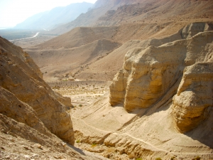 Qumran in der judäischen Wüste