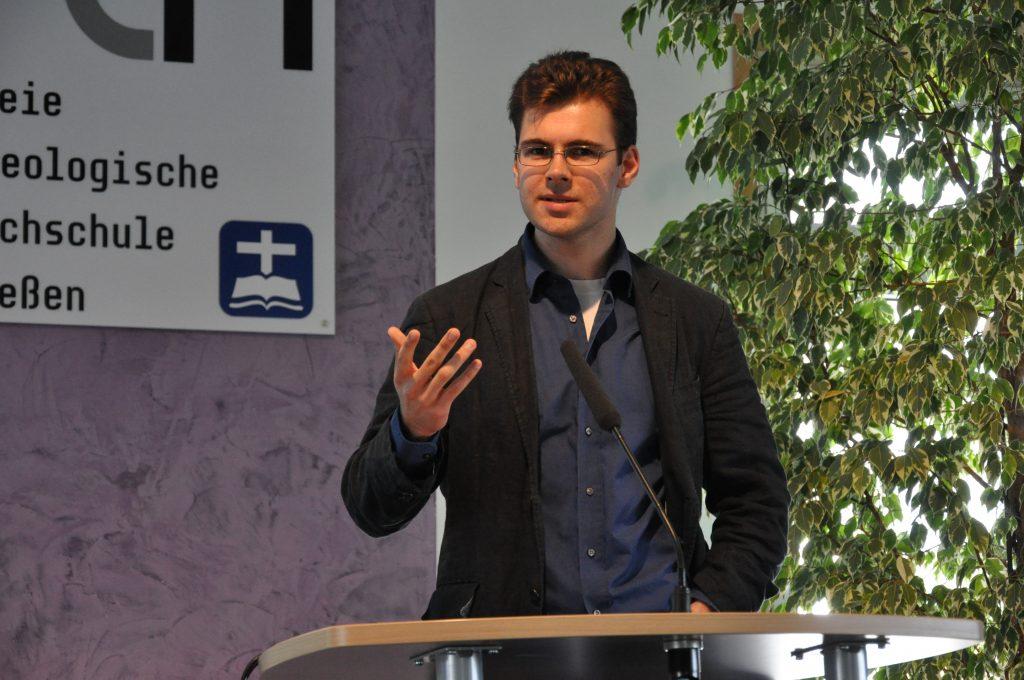 Markus Voss-Göschel referierte über den Antisemitismus Immanuel Kants