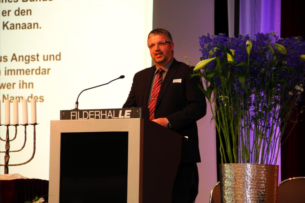 Dr. Berthold Schwarz, Leiter des Instituts für Israelogie