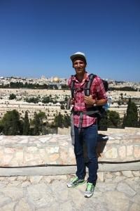 Blick auf die Jerusalemer Altstadt vom Ölberg