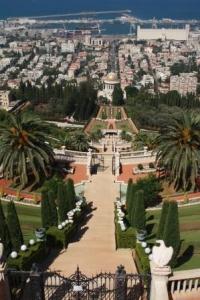 Die berühmten Bahai-Gärten in Haifa