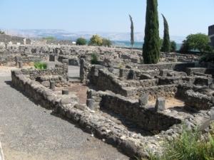 Die Ruinen von Kapernaum