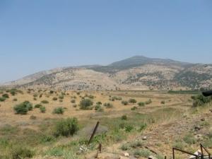 Der Berg Hermon - Blick auf Libanon