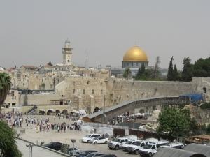 Tempelberg und Klagemauer - für Muslime und Juden heiliges Gelände