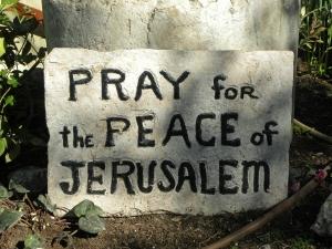 Wird es jemals Frieden in Jerusalem geben?